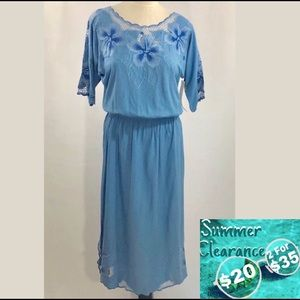 Handcrafted Pullover Spring Dress